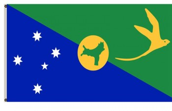 Fyon Australia Banner Christmas Island Flag 2x3ft