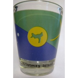 Christmas Island Flag Shot Glass