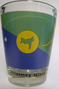 Christmas Island Flag Shot Glass